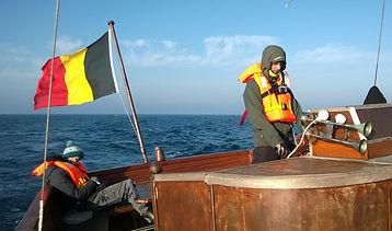 WestOnBoats - Vacances à la voile entre îles et cétacés à bord du Norda. Découvrez notre première navigation lors du convoyage de notre vieux gréement de Pologne en Galice!