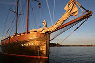 Join us on board the Norda for Sailing holidays off the beaten tracks in Scotland or the Canaries! Traditional sailing between Islands and Whales.