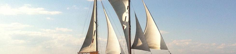 Sailing holidays on board the Norda, Danish wishbone ketch built in 1928