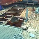 WestOnBoats - Vacances à la voile entre îles et cétacés à bord du Norda. Suivez la progression des travaux de restauration de notre vieux gréement!