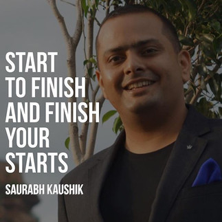 Start to finish, and finish your starts_