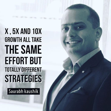 X , 5X and 10X #growth all take the same