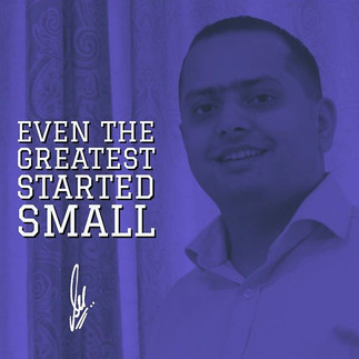 Even the greatest started small_#peoplei