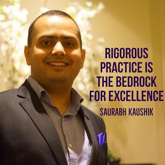 Rigorous #practice is the #bedrock for #
