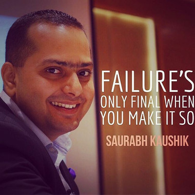 Failure's only final when you make it so