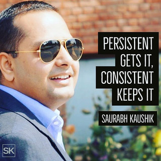 Persistent gets it, consistent keeps it_