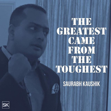 The greatest came from the toughest _#pe