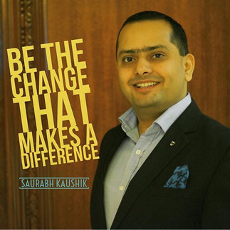 Be the #change that makes a #difference