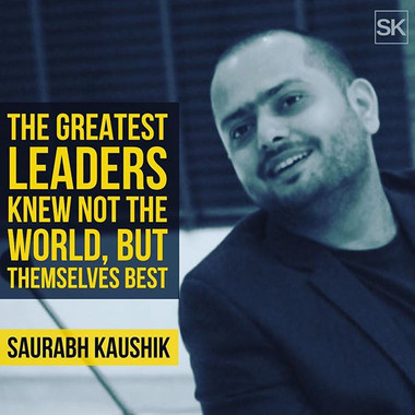 The greatest leaders knew not the world,