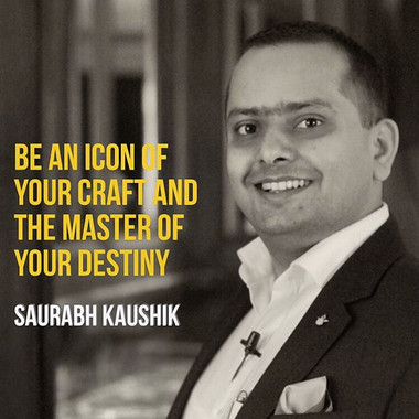 Be an #icon of your #craft and the #mast