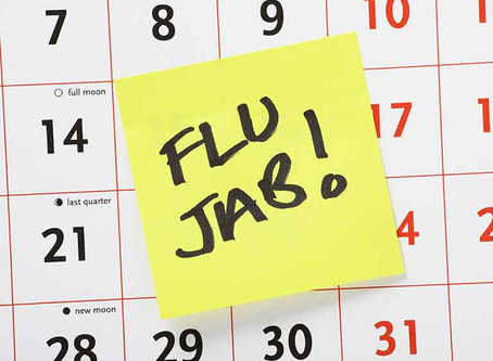 FLU Vaccinations for Patients Over the age of 65.