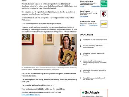 Article de The Advocate