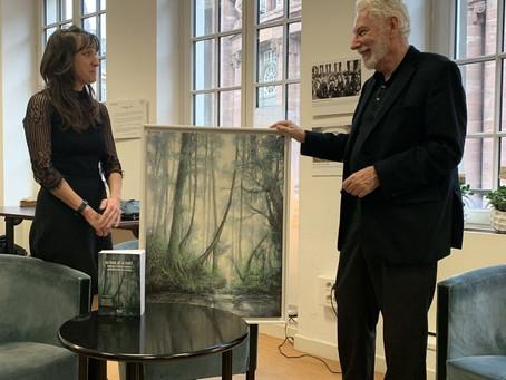 """Livre """"Au seuil de la forêt"""" : une peinture d'Anaïs Pitalier pour la couverture du livre"""