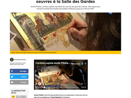 Article de France Info Culture
