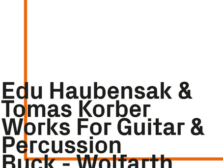 New Release: Works for Guitar & Percussion (CD)
