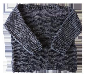 1852 Sweater cuello bote