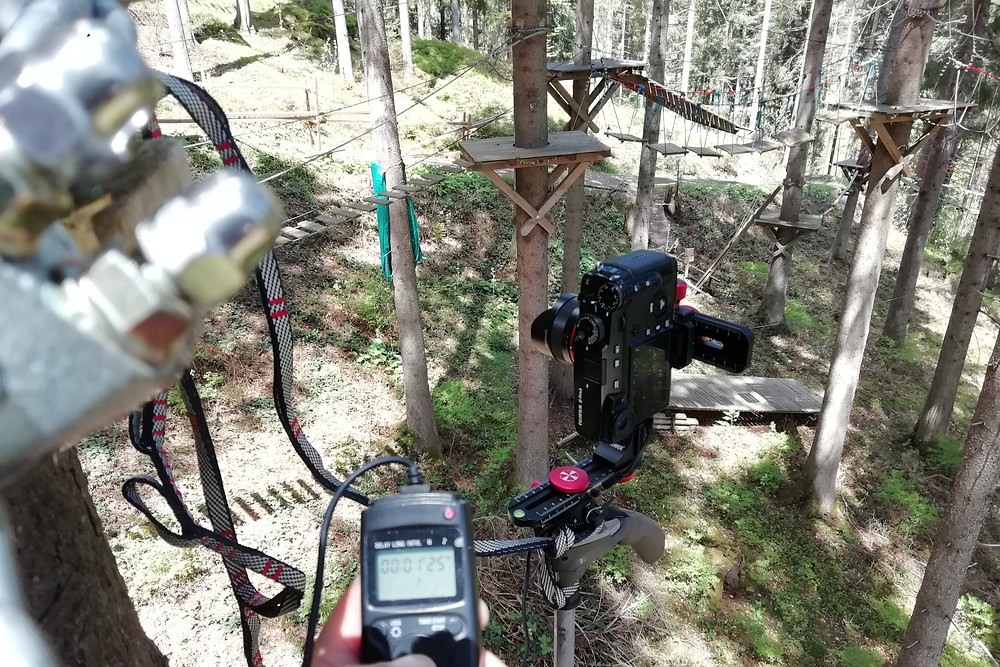 Aufnahmen für den virtuellen Rundgang werden erstelltt