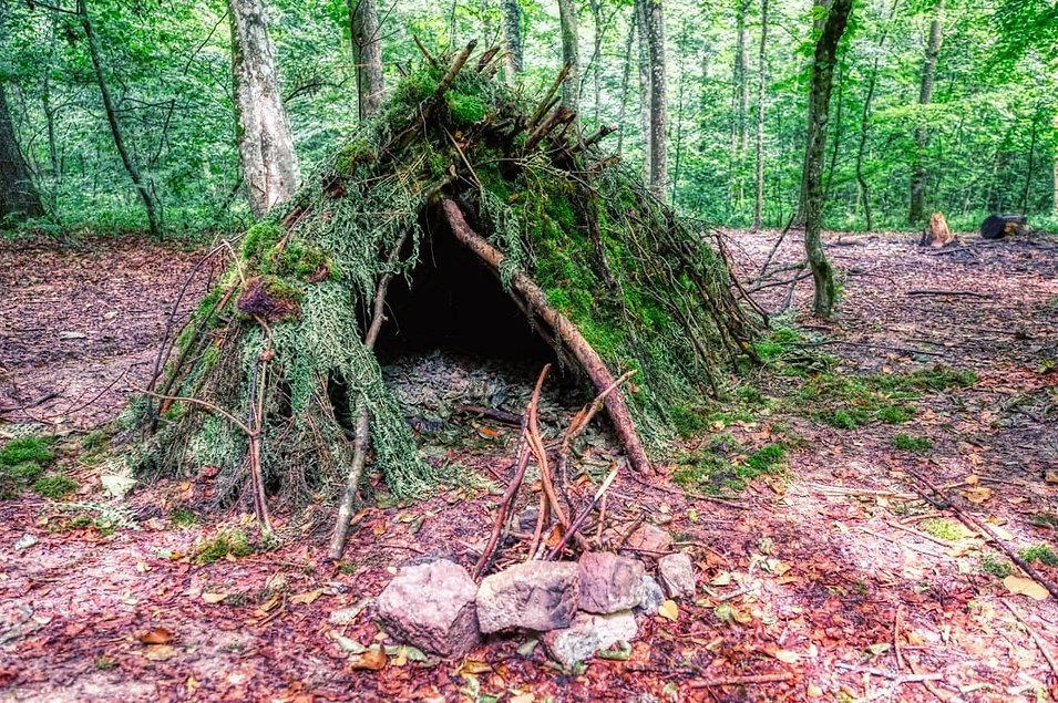 Shelter Überlebenstraining Schwarzwald