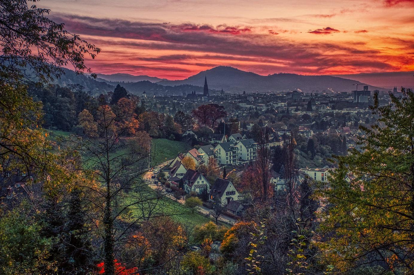 Freiburg Münster Himmel