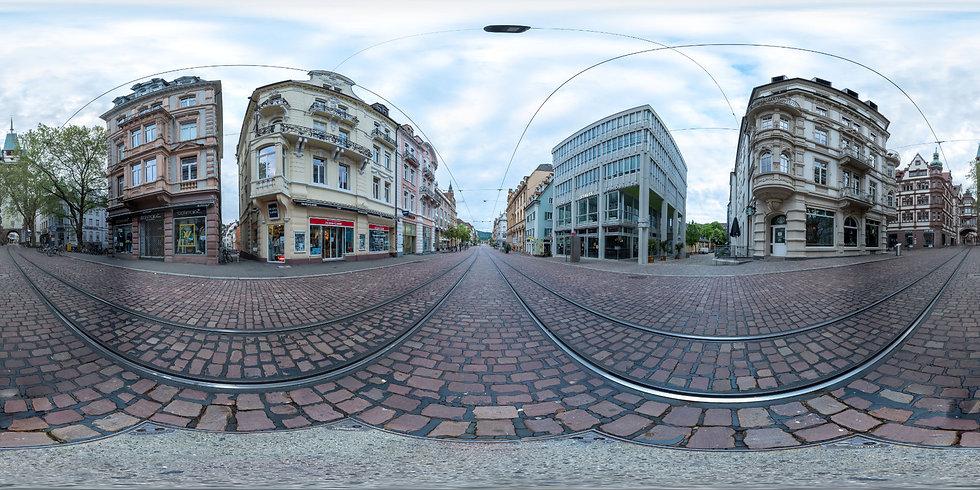 Virtuelle Tour Freiburg 360 Grad Rundgan