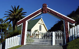 Church at Tikitiki near Hicks Bay