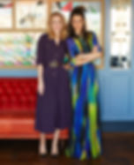 Rachel Arthur and Rosanna Falconer of FashMash London