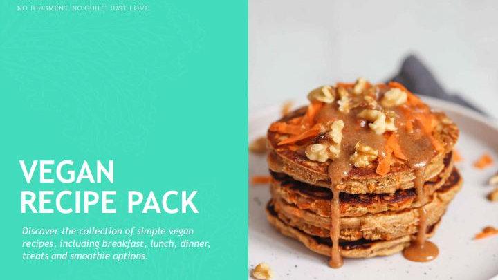 Vegan Recipe Pack