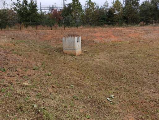 Detention Pond Maintenance 10-26-18