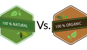 Natural vs. Organic Products