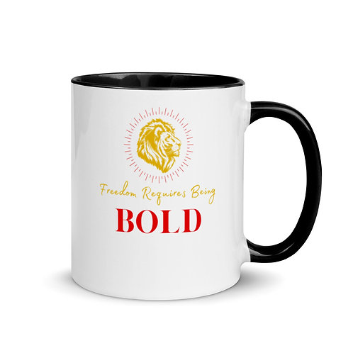 Freedom Requires Being Bold Mug