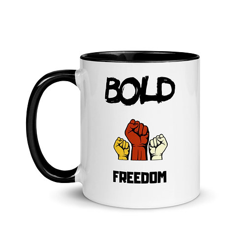 Bold Freedom Triple Fist Mug