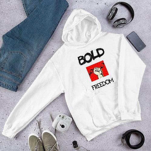 Bold Freedom Alpha Black II Unisex Hoodie