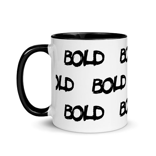 BOLD Mug with Color Inside