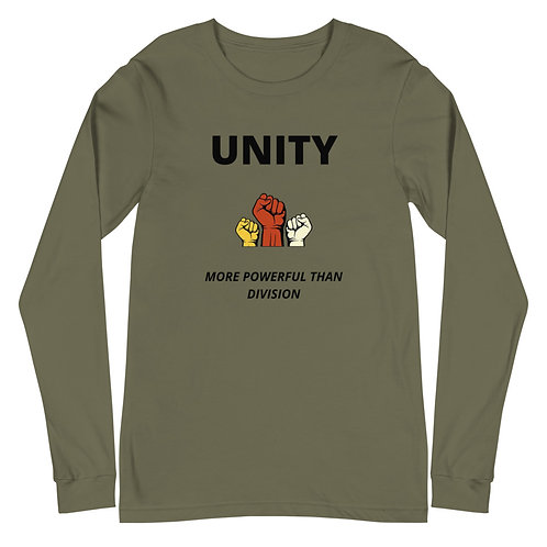 Unity Is More Powerful Long Sleeve T-Shirt