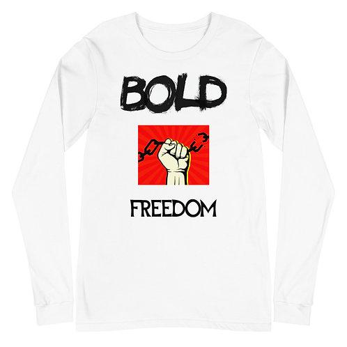 Bold Freedom Alpha Black Unisex Long Sleeve