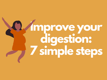 How to Improve Digestion: 7 Simple Steps