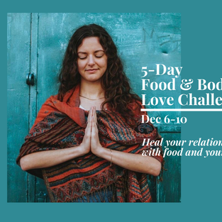 {Email Campaign} Intuitive Eating Challenge Promo