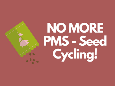 Seed Cycling for Menstrual Health