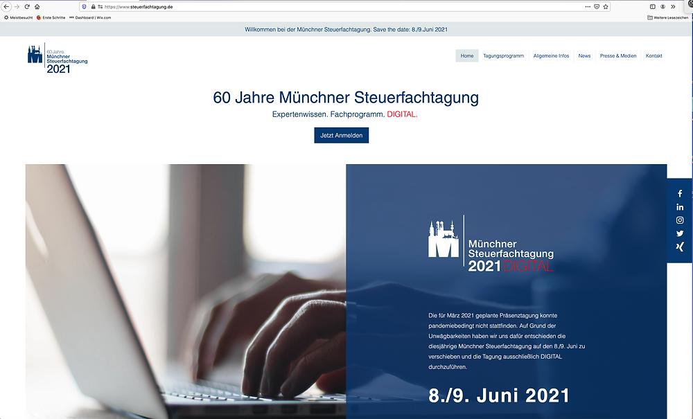 Münchner Steuerfachtagung Home