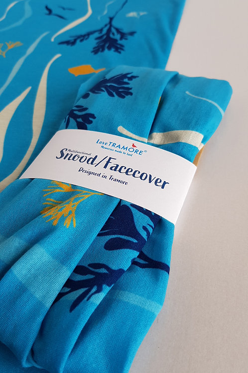 Snood/Facecover Seaweed blue