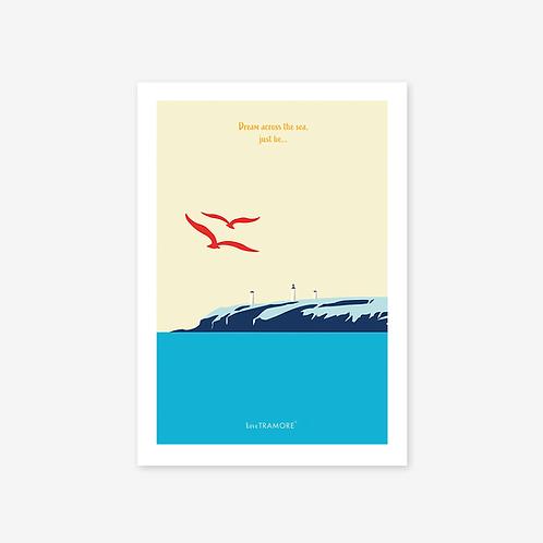 A4 Dream across the sea