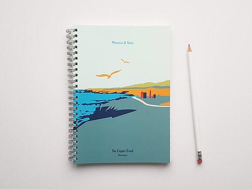 A5 Notebook Cover: Copper Coast
