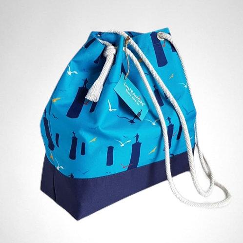 Tramore Beach Bag blue