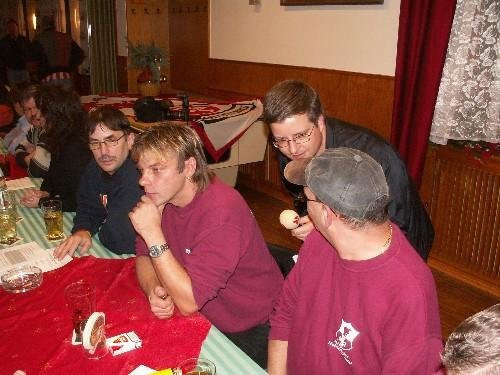 2006 Aufsichtsrat des FCK bei den Hainbachteufel