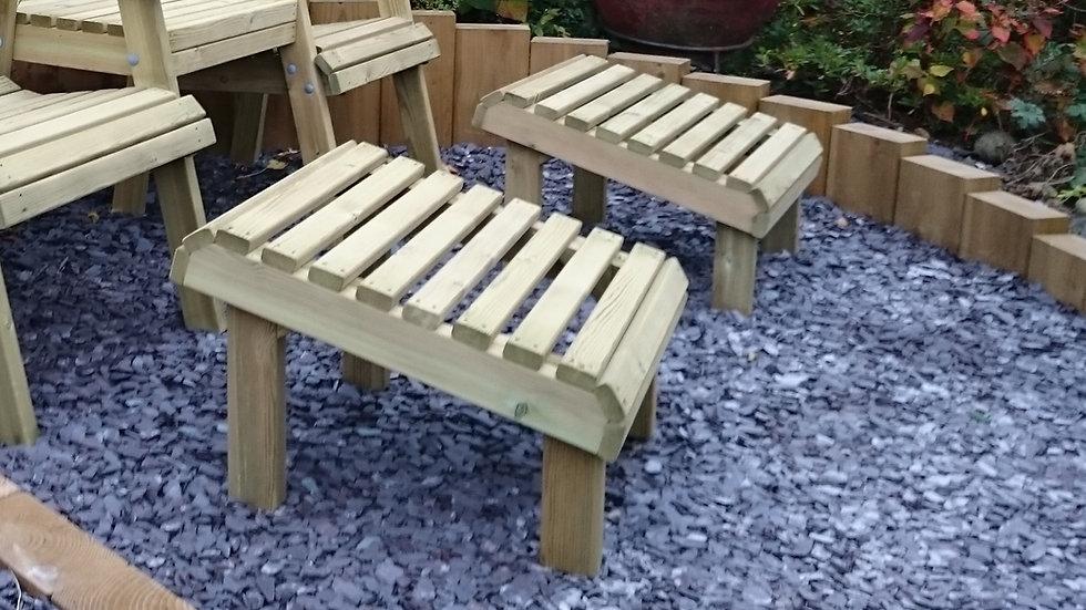 Garden Footstools | Custom Garden Chairs