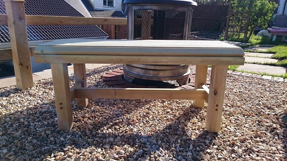 Luxury Wooden Garden Table | Custom Garden Chairs | Luxury Occasional Garden Table