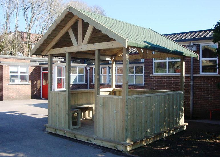 Alpine Outdoor Classroom | Wooden Outdoor Teaching Room