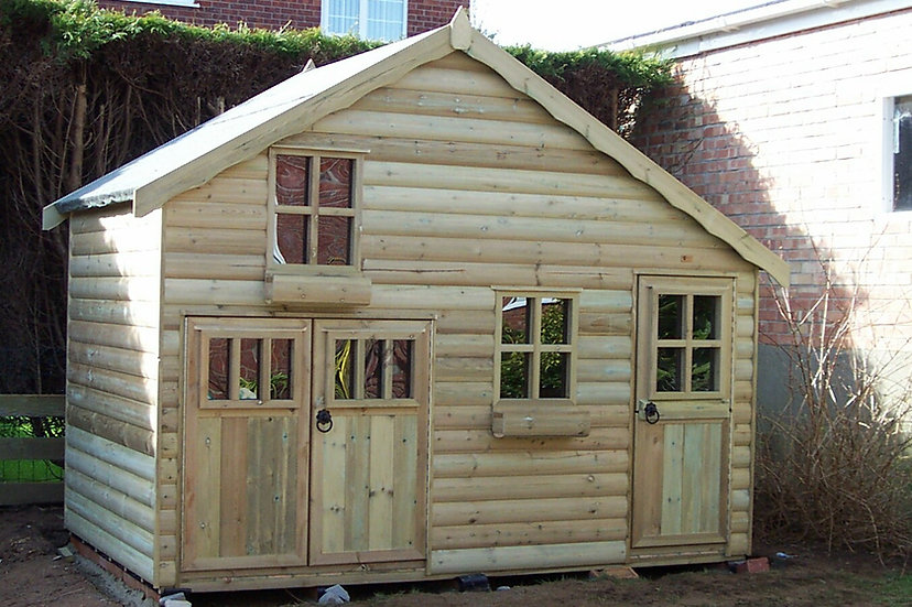 The Town House | Childrens Wooden Playhouses