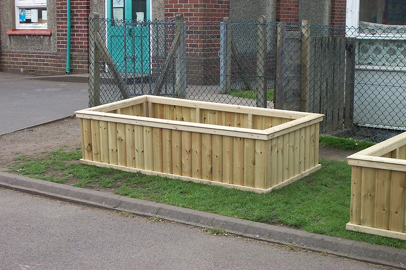 Giant Rectangular Planter | Wooden Planters