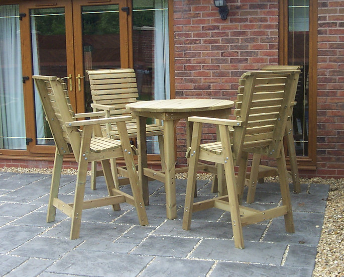 The Cocktail Set | Outdoor Dining Tables